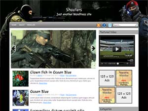Shooters Wordpress Theme