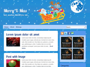 X-Mas WordPress Theme