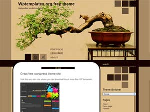 Bonsai WP Theme
