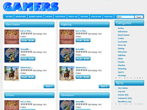 Gamers Wordpress Theme